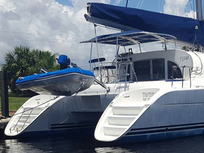 Catamarans TANTARA, Manufacturer: LAGOON, Model Year: 2003, Length: 38ft, Model: Lagoon 380, Condition: Preowned, Listing Status: Coming Soon, Price: USD 245900