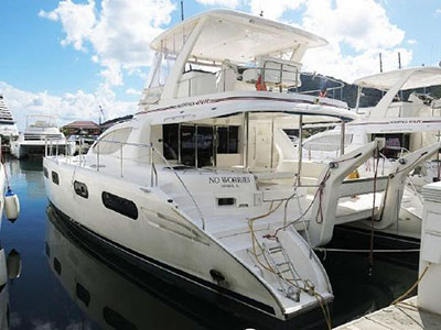 Catamarans NO WORRIES, Manufacturer: ROBERTSON & CAINE, Model Year: 2011, Length: 47ft, Model: Leopard 47 PC , Condition: USED, Listing Status: Coming Soon, Price: USD 399000