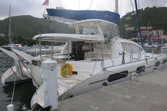 Catamaran for Sale Leopard 46   in Tortola British Virgin Islands CATALINAVILLE Vessel Summary Preowned Sail