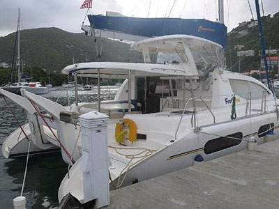Catamaran for Sale Leopard 46   in Tortola British Virgin Islands CATALINAVILLE  Preowned Sail
