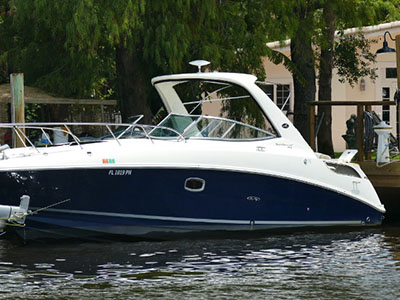 Acceptance of Vessel 310 SUNDANCER  in Fort Lauderdale Florida (FL)  NINO  Preowned Power