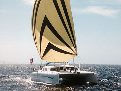 SOLD Kurt Hughes 45  in Brisbane California (CA)  CAPRICORN CAT Thumbnail for Listing Preowned Sail