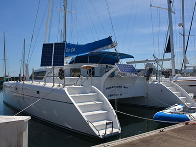 Catamarans CAPRICORN CAT, Manufacturer: SHAW BOATWORKS, Model Year: 1995, Length: 45ft, Model: Kurt Hughes 45, Condition: Preowned, Listing Status: Catamaran for Sale, Price: USD 335000