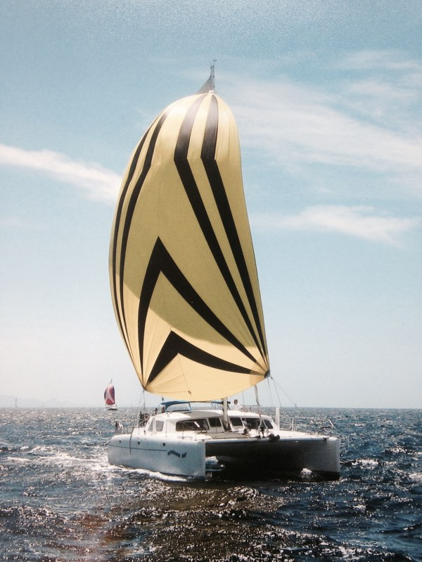 Preowned Sail Catamarans for Sale 1995 Kurt Hughes 45
