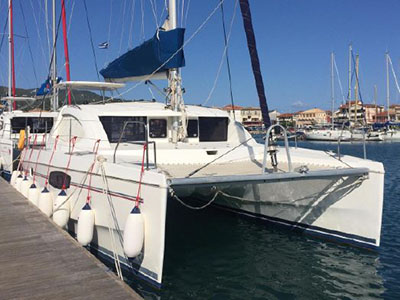 Catamarans ULYSSE, Manufacturer: ROBERTSON & CAINE, Model Year: 2011, Length: 37ft, Model: Leopard 39, Condition: Preowned, Listing Status: Catamaran for Sale, Price: USD 182805