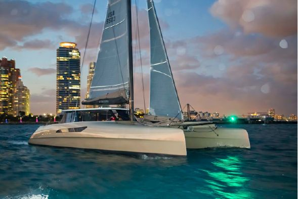 Preowned Sail Catamarans for Sale 2015 Gunboat 55
