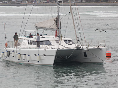 Used Sail Catamaran for Sale 2012 Knysna 48