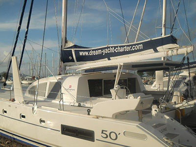 Catamaran for Sale Catana 50 Ocean Class  in Tahiti French Polynesia AMAZONE  Preowned Sail