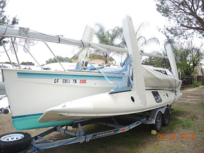 Catamarans FAIR DINKUM, Manufacturer: CORSAIR MARINE, Model Year: 1991, Length: 27ft, Model: F27, Condition: USED, Listing Status: Coming Soon, Price: USD 40000