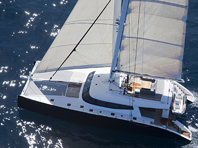 New Sail Catamarans for Sale  Sunreef 80 Carbon Line