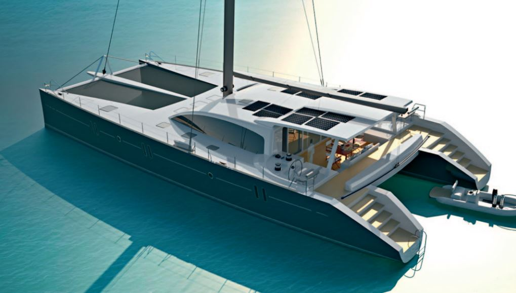 Custom Sail Catamarans for Sale  Van Peteghem - Lauriot Prevost 80 Custom