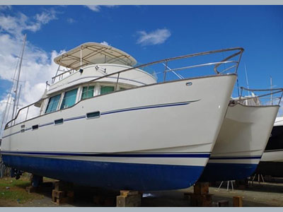 Catamarans PETITE CHERIE III, Manufacturer: ALLIAURA MARINE, Model Year: 2000, Length: 42ft, Model: Alliaura Transcat 42, Condition: Preowned, Listing Status: INTERNAL BOATS, Price: USD 220000