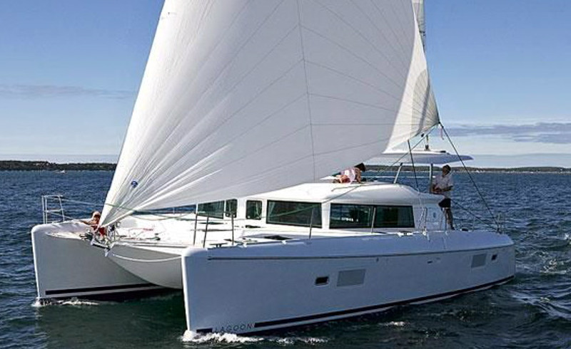 Catamaran for Sale Lagoon 420  in San Diego California (CA)  PAIRADICE  Preowned Sail