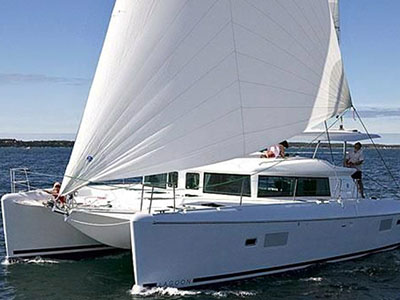 Catamaran for Sale Lagoon 420  in San Diego California (CA)  PAIRADICE Thumbnail for Listing Preowned Sail
