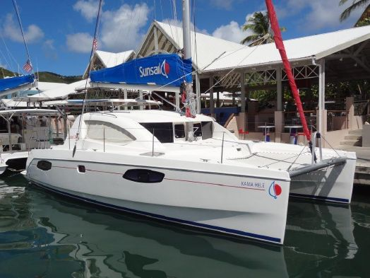Catamaran for Sale Leopard 38  in Tortola British Virgin Islands KAMA HELE Vessel Summary Preowned Sail