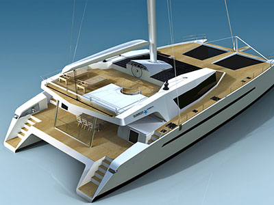 New Sail Catamarans for Sale  Sunreef 75 Ultimate