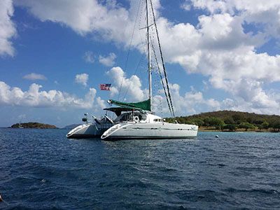 Catamaran for Sale Lagoon 570  in Cruising the British Virgin Islands British Virgin Islands PRIDE  Preowned Sail