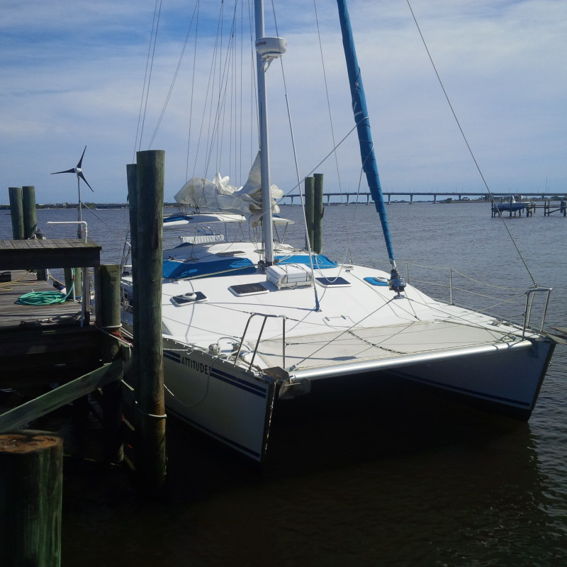 NINE Catamarans For Sale. 36 feet in length.  Price range s tarting from $109,000 to $264,000.