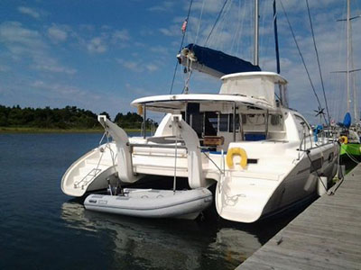 Catamarans ISLAND GIRL, Manufacturer: ROBERTSON & CAINE, Model Year: 2008, Length: 46ft, Model: Leopard 46 , Condition: USED, Listing Status: Catamaran for Sale, Price: USD 374900