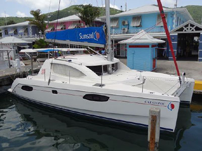 Catamarans CATATONIC, Manufacturer: ROBERTSON & CAINE, Model Year: 2010, Length: 38ft, Model: Leopard 38, Condition: Preowned, Listing Status: Catamaran for Sale, Price: USD 185000