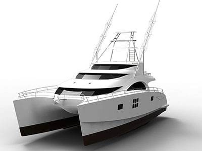 New Power Catamarans for Sale  75 Sunreef Power Sportfish