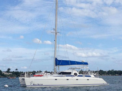 Catamarans BLUE HERON, Manufacturer: FOUNTAINE PAJOT , Model Year: 1990, Length: 46ft, Model: CASAMANCE 46', Condition: Preowned, Listing Status: Catamaran for Sale, Price: USD 219000