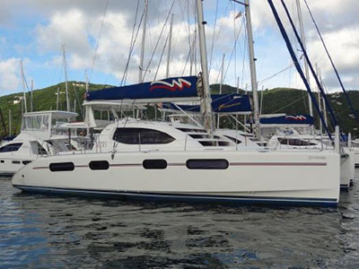 Catamarans JEANHARR, Manufacturer: ROBERTSON & CAINE, Model Year: 2010, Length: 46ft, Model: Leopard 46 , Condition: USED, Listing Status: Catamaran for Sale, Price: USD 379000