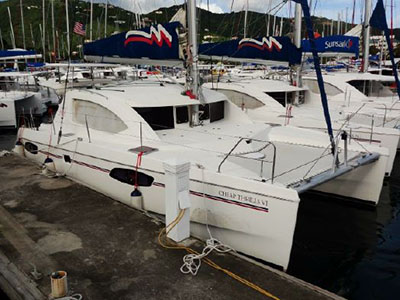 Catamarans CHEAP THRILLS VI, Manufacturer: ROBERTSON & CAINE, Model Year: 2012, Length: 39ft, Model: Leopard 39, Condition: Preowned, Listing Status: Catamaran for Sale, Price: USD 269000