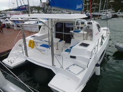 Catamarans EDEN FOR EVER, Manufacturer: ROBERTSON & CAINE, Model Year: 2011, Length: 37ft, Model: Leopard 38, Condition: Preowned, Listing Status: Catamaran for Sale, Price: USD 190000