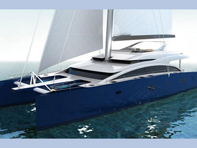 Launched Sail Catamaran for Sale  Sunreef 92 DD
