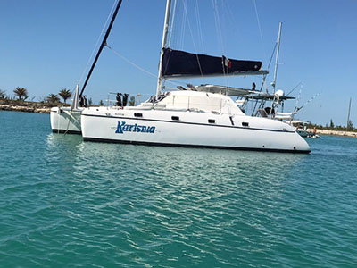 Catamarans KARISMA, Manufacturer: JAGUAR , Model Year: 2005, Length: 36ft, Model: Jaguar 36, Condition: Preowned, Listing Status: Catamaran for Sale, Price: USD 169900