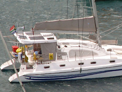 Catamarans RAT CATCHER, Manufacturer: ISLAND SPIRIT, Model Year: 2008, Length: 39ft, Model: Island Spirit 401, Condition: Preowned, Listing Status: Catamaran for Sale, Price: USD 275000