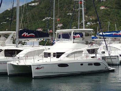 Catamaran for Sale Leopard 39  in Tortola British Virgin Islands ZARP Thumbnail for Listing Preowned Sail