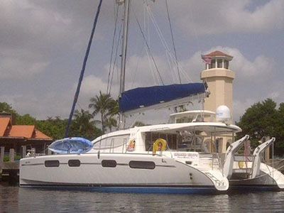 Catamarans ISLAND TIME, Manufacturer: ROBERTSON & CAINE, Model Year: 2007, Length: 46ft, Model: Leopard 46 , Condition: USED, Listing Status: Coming Soon, Price: USD 395000