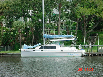 Catamaran for Sale Endeavour 36  in Lighthouse Point Florida (FL)  TOP CAT Thumbnail for Listing Preowned Sail