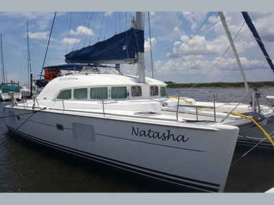 Catamarans NATASHA, Manufacturer: LAGOON, Model Year: 2005, Length: 38ft, Model: Lagoon 380, Condition: Used, Listing Status: Catamaran for Sale, Price: USD 275000