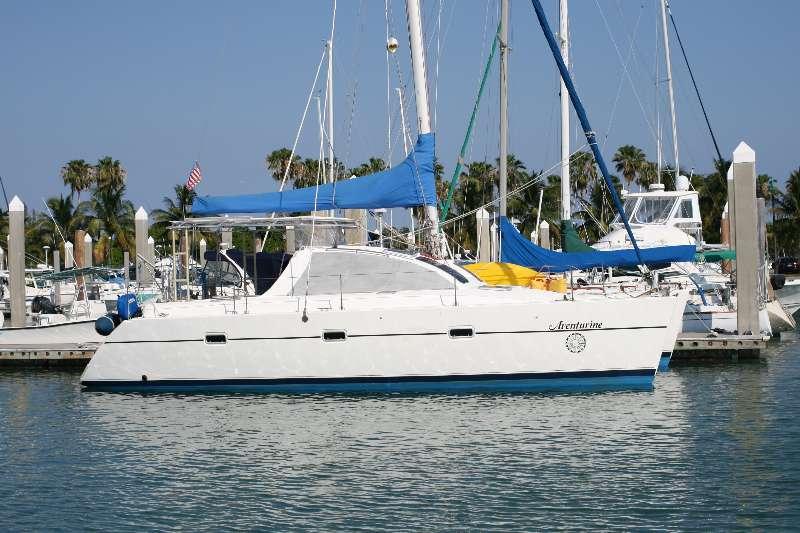 Catamarans AVENTURINE, Manufacturer: LAGOON TPI , Model Year: 1994, Length: 36ft, Model: Lagoon 37, Condition: Preowned, Listing Status: Catamaran for Sale, Price: USD 119000