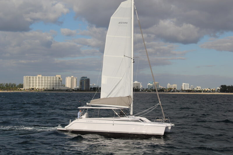 New Sail Catamaran for Sale  Freestyle 37