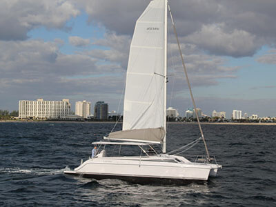 Catamaran for Sale Freestyle 37  in Largo Florida (FL)  BROCHURE-GEMINI FREESTYLE 37  Brochure Sail