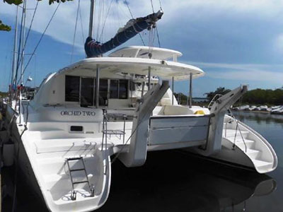 Catamarans ORCHID TWO, Manufacturer: ROBERTSON & CAINE, Model Year: 2011, Length: 46ft, Model: Leopard 46 , Condition: Preowned, Listing Status: Catamaran for Sale, Price: USD 390000