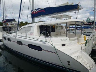 Catamarans MUSCADE, Manufacturer: ROBERTSON & CAINE, Model Year: 2011, Length: 46ft, Model: Leopard 46 , Condition: Preowned, Listing Status: Catamaran for Sale, Price: USD 379000