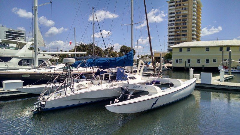 SEVEN Catamarans For Sale. 40 feet in length.