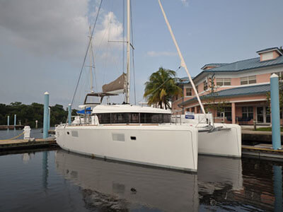 Catamaran for Sale Lagoon 39  in Tortola British Virgin Islands FRENCH MAID  Preowned Sail