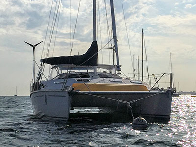 Catamarans SLOW DANCE, Manufacturer: PDQ YACHTS, Model Year: 1998, Length: 36ft, Model: PDQ 36 LRC, Condition: USED, Listing Status: Catamaran for Sale, Price: USD 137900