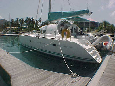 Catamaran for Sale Lagoon 380  in U.S. Virgin Islands SEA-130 Thumbnail for Listing Preowned Sail