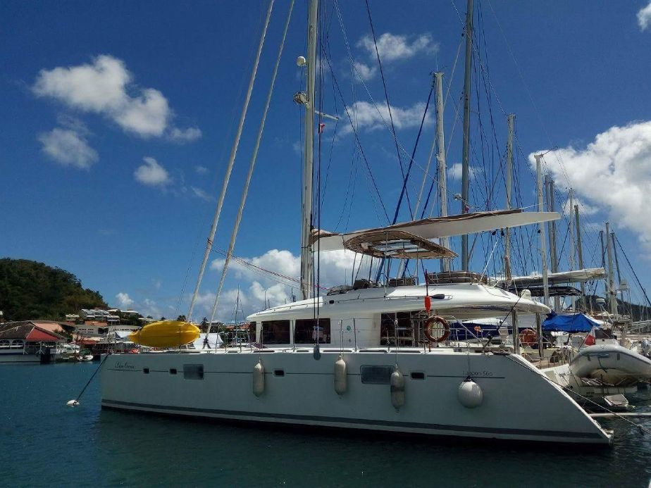 Catamaran for Sale Lagoon 560  in Sardinia Italy BLUE OCEAN  Preowned Sail