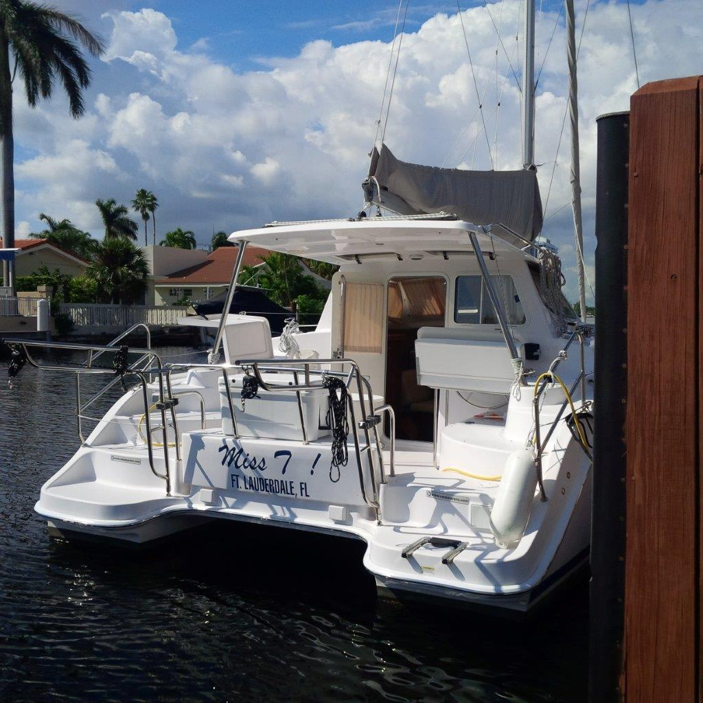Under Negotiation Legacy 35  in Islamorada Florida (FL)  MISS T Vessel Summary Preowned Sail