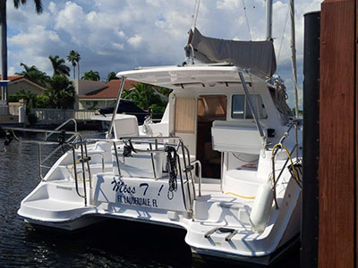 Under Negotiation Legacy 35  in Islamorada Florida (FL)  MISS T Thumbnail for Listing Preowned Sail