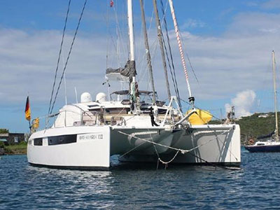 Catamarans KATHAMARIA III, Manufacturer: ALLIAURA MARINE, Model Year: 2011, Length: 48ft, Model: Privilege 515, Condition: Preowned, Listing Status: Catamaran for Sale, Price: USD 899000
