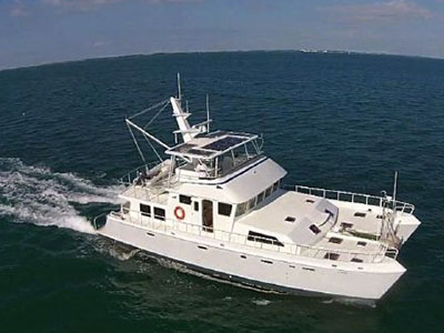 Catamarans HERO, Manufacturer: BILL SHUMAN, Model Year: 2013, Length: 63ft, Model: 63 Power Cat, Condition: Preowned, Listing Status: Catamaran for Sale, Price: USD 699000